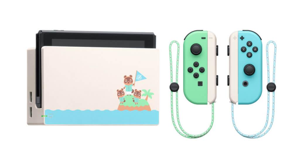 4 Nintendo Switch Animal Crossing New Horizons Edition Full