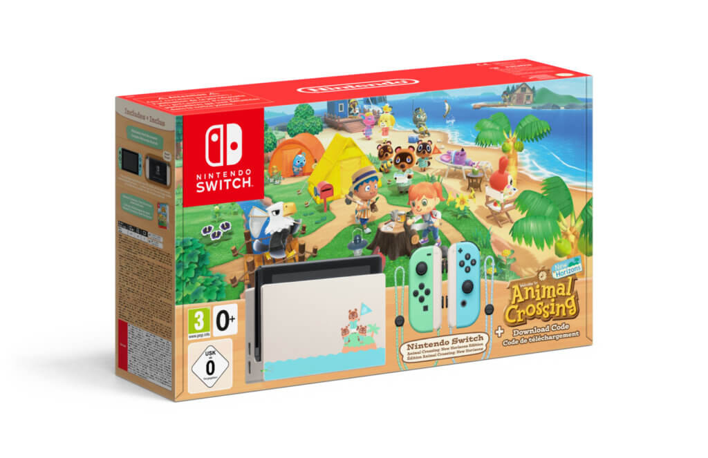 5 Nintendo Switch Animal Crossing New Horizons Edition Joycon Pack