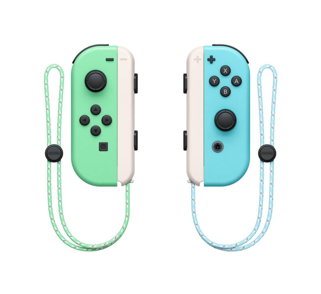 6 Nintendo Switch Animal Crossing New Horizons Edition Joycon