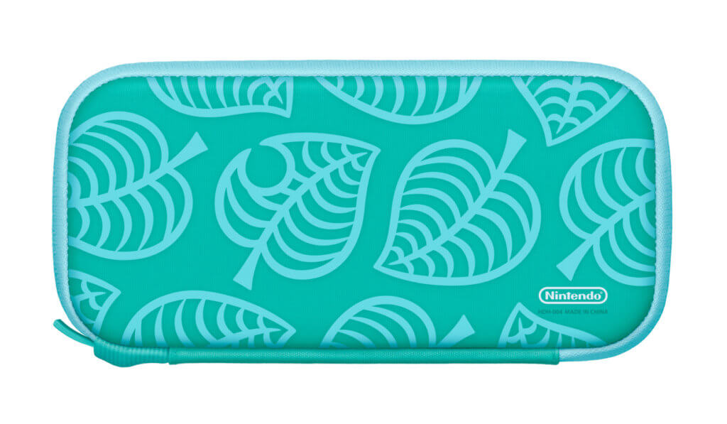 7 Nintendo Switch Lite Animal Crossing New Horizons Edition Carrying Case Back