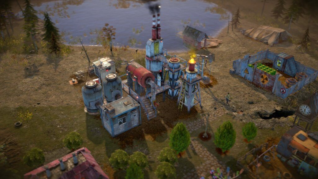 Surviving The Aftermath Refinery Screenshot