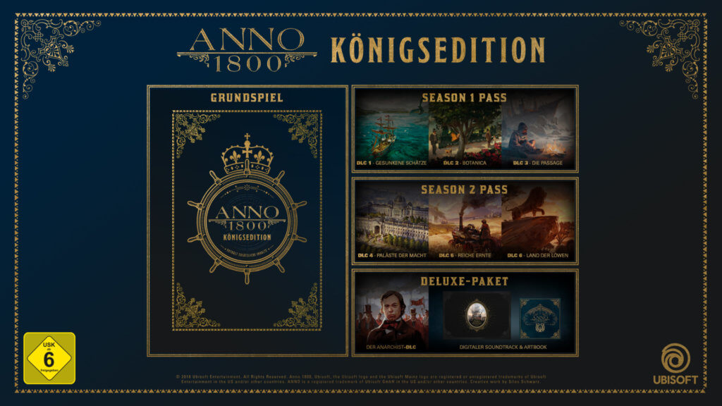 Anno1800 Königsedition Digital Mockup