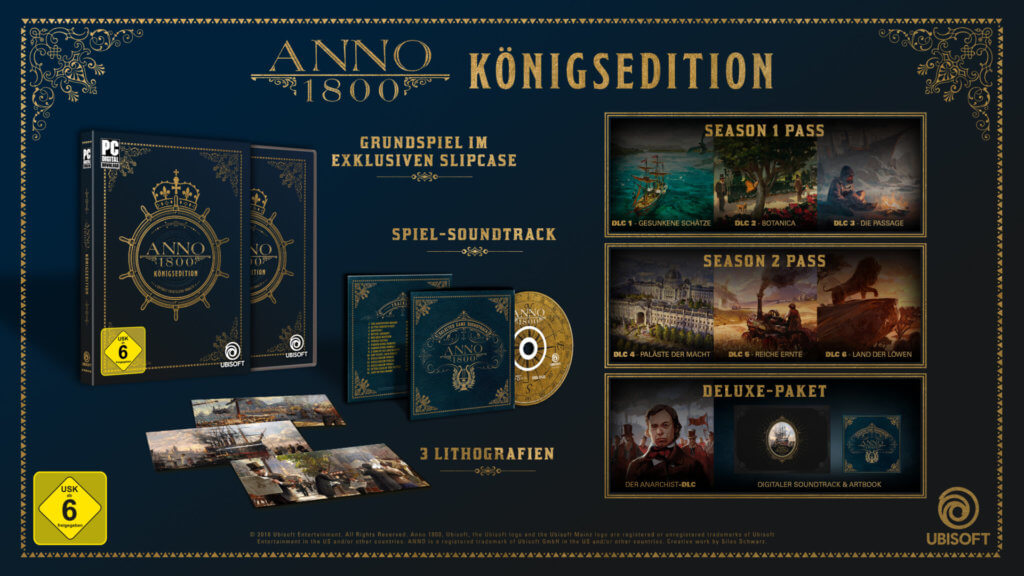 Anno1800 Königsedition Retail Mockup