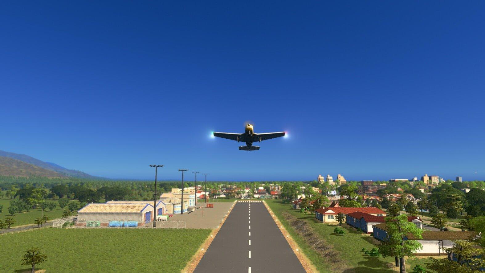 City Skylines Sunset Harbor Screen 02
