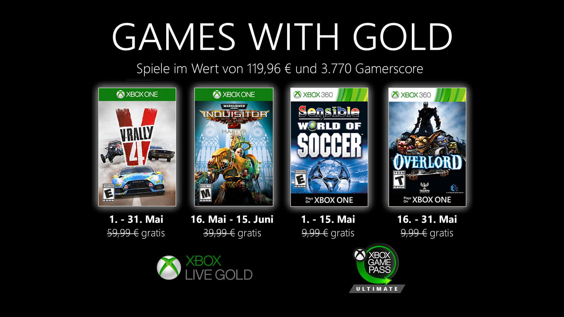 Mediaasset Games With Gold Mai