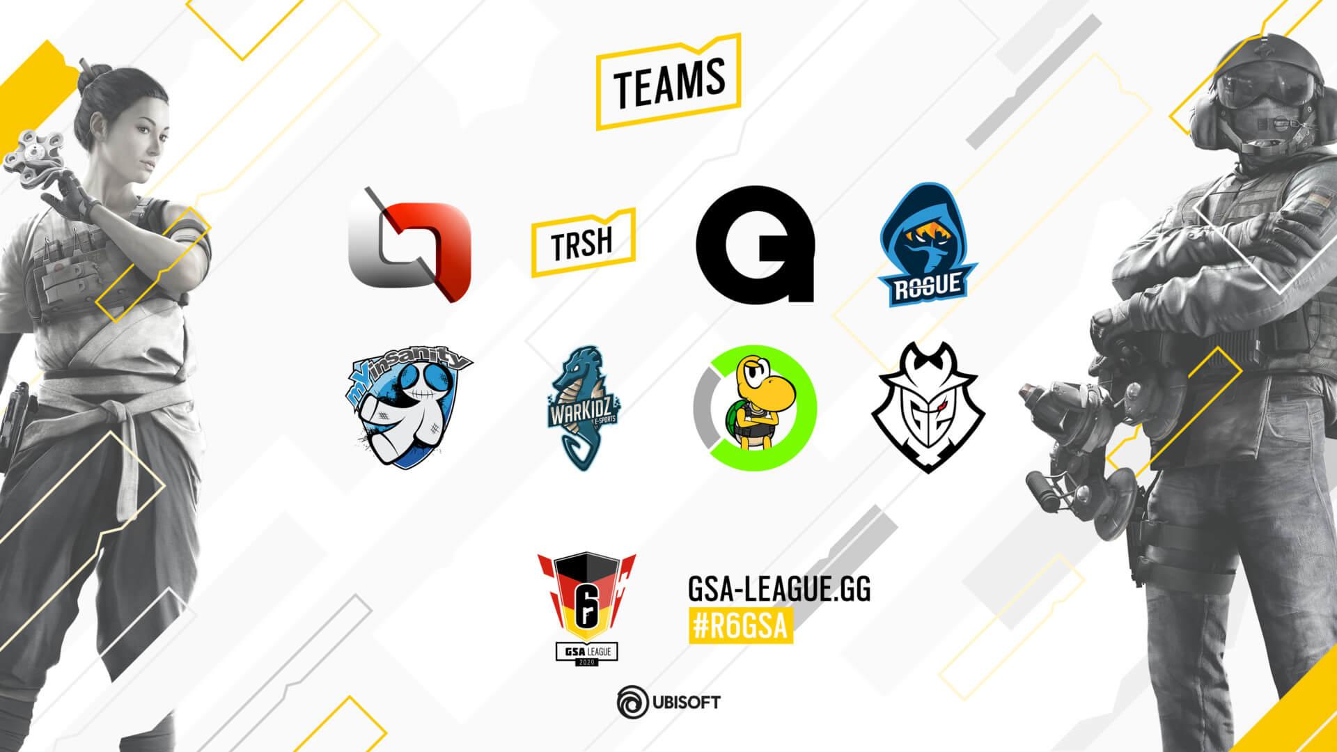 Gsa League20 16 9 Teams