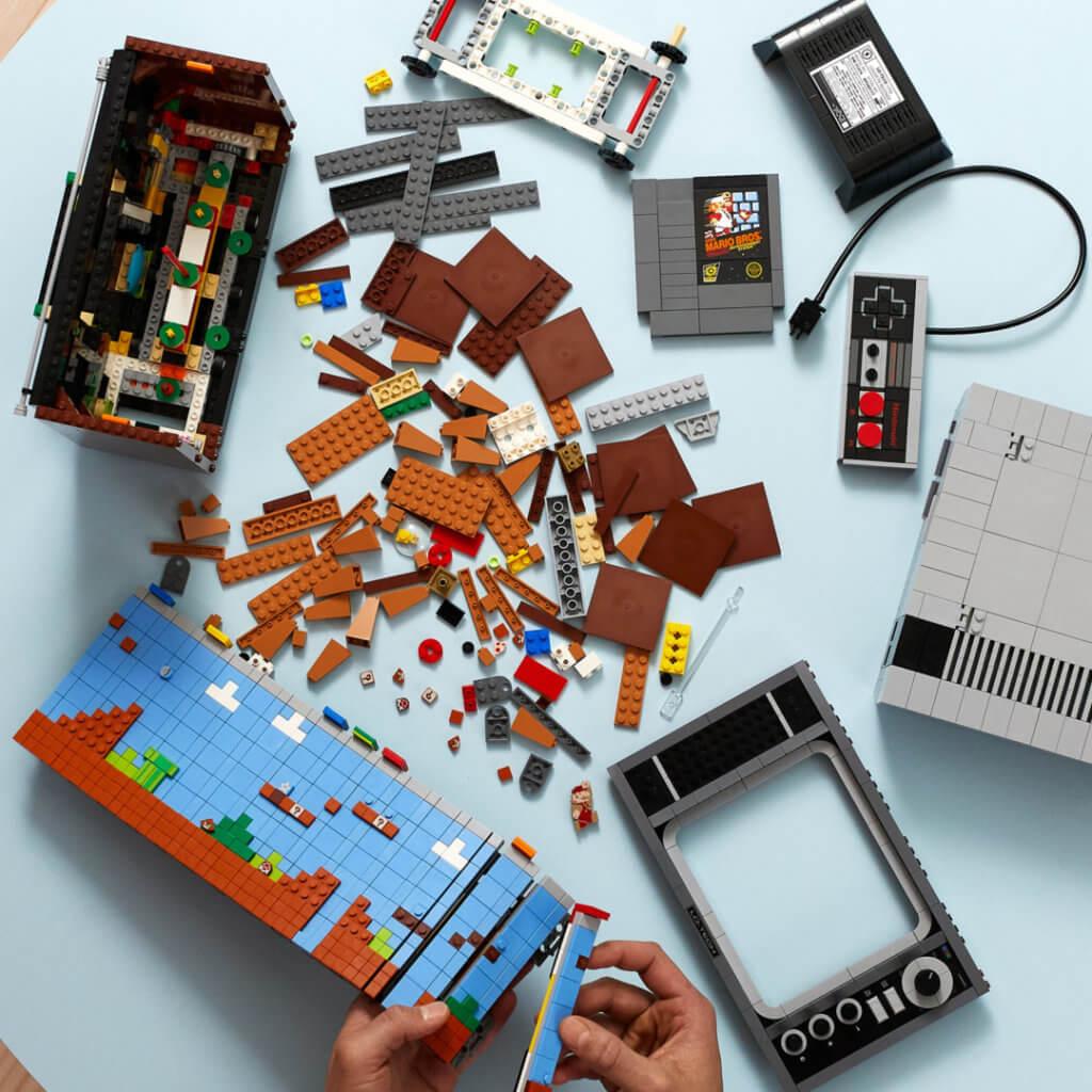 Lego Super Mario Lego Super Mario Lego Super Mario Lego Super Mario 71374 Lifestyle Build Crop Scaled