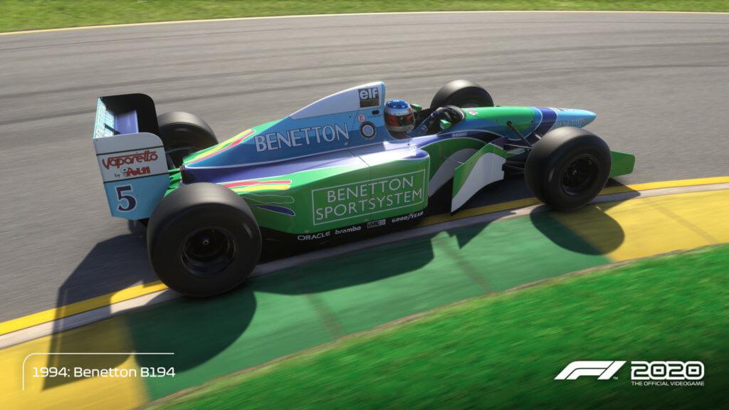 Schmacher Benetton 94 Melbourne 03