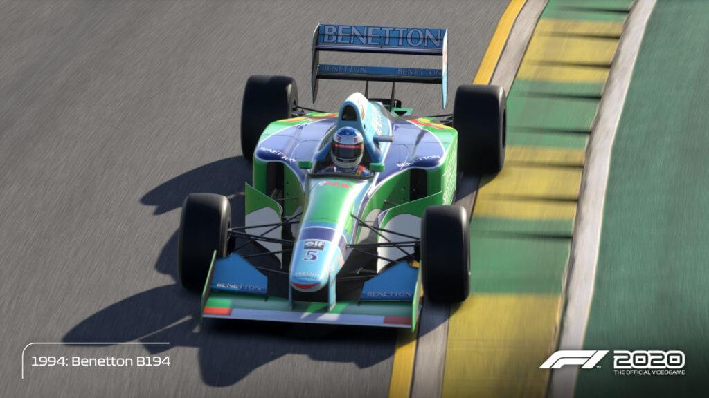 Schmacher Benetton 94 Melbourne 04