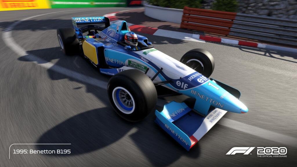 Schmacher Benetton 95 Monaco 03