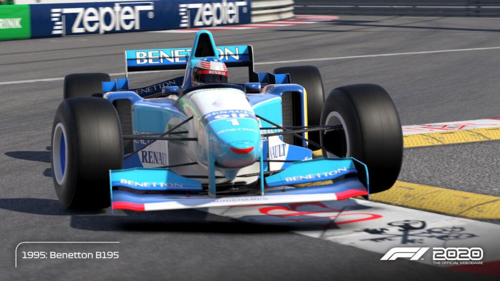 Schmacher Benetton 95 Monaco 04