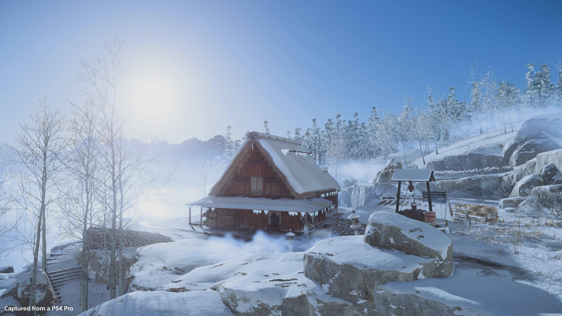 Farm In Snow 1