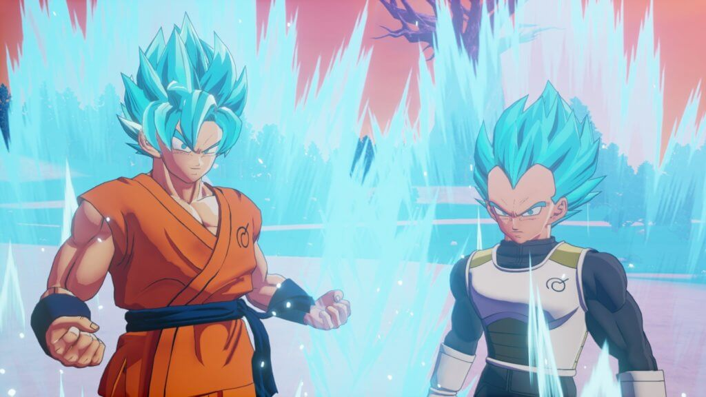 Dbzk Goku Vegeta Ssgss