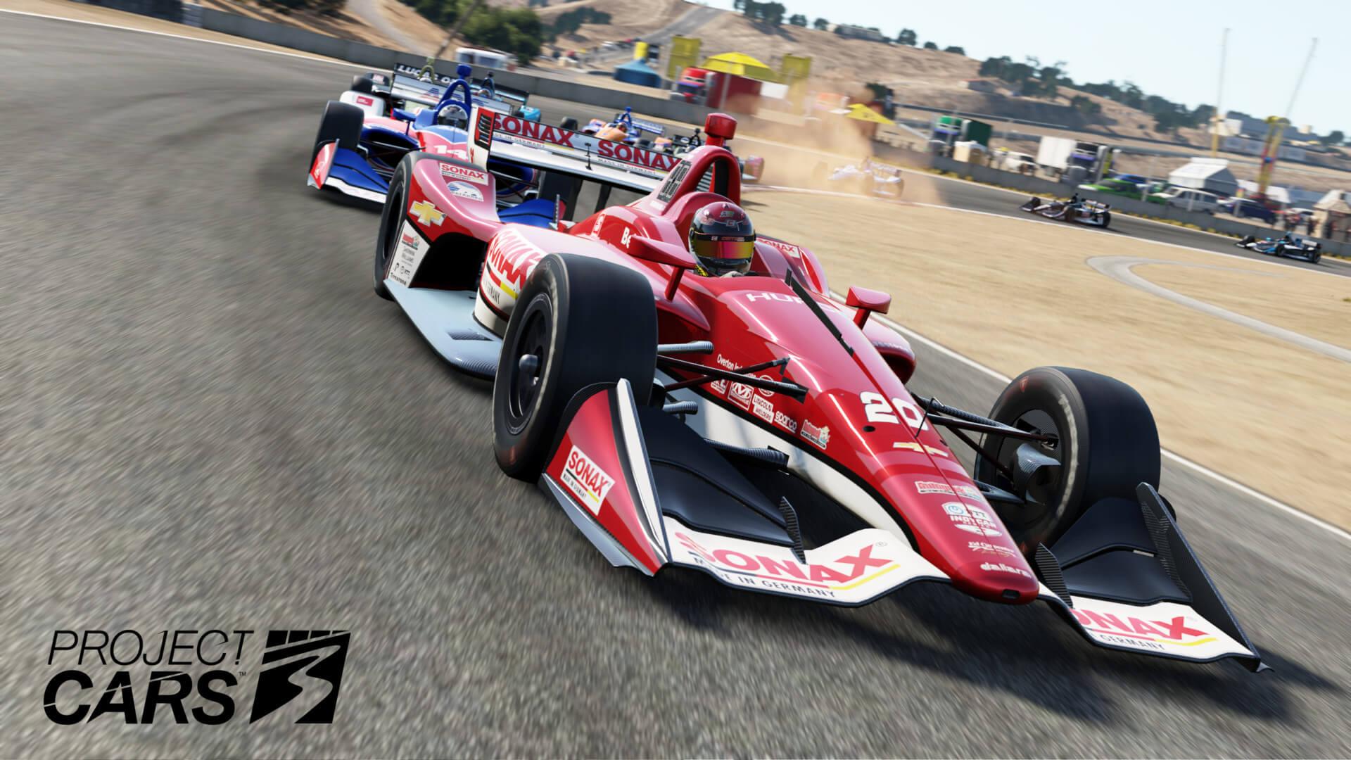 Indycar Lagunaseca