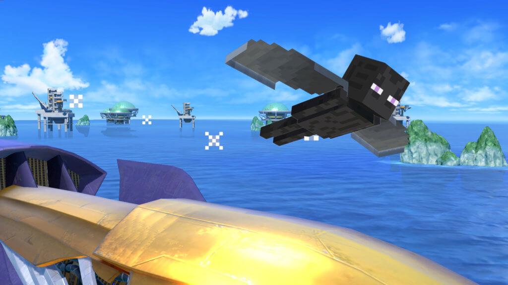 5 201005 Nsw Ssbu Screenshot Steve Up Special 2