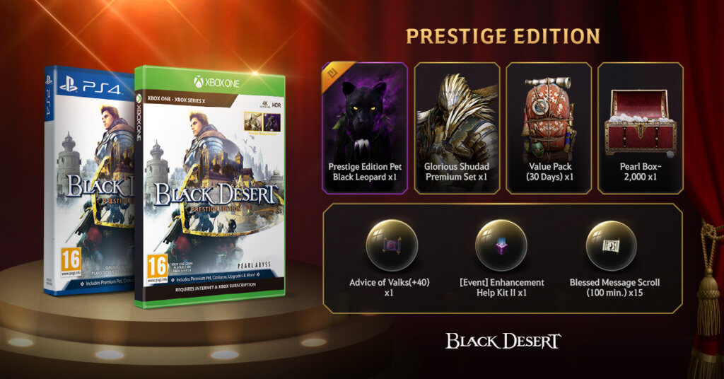 Prestige Edition Bdc