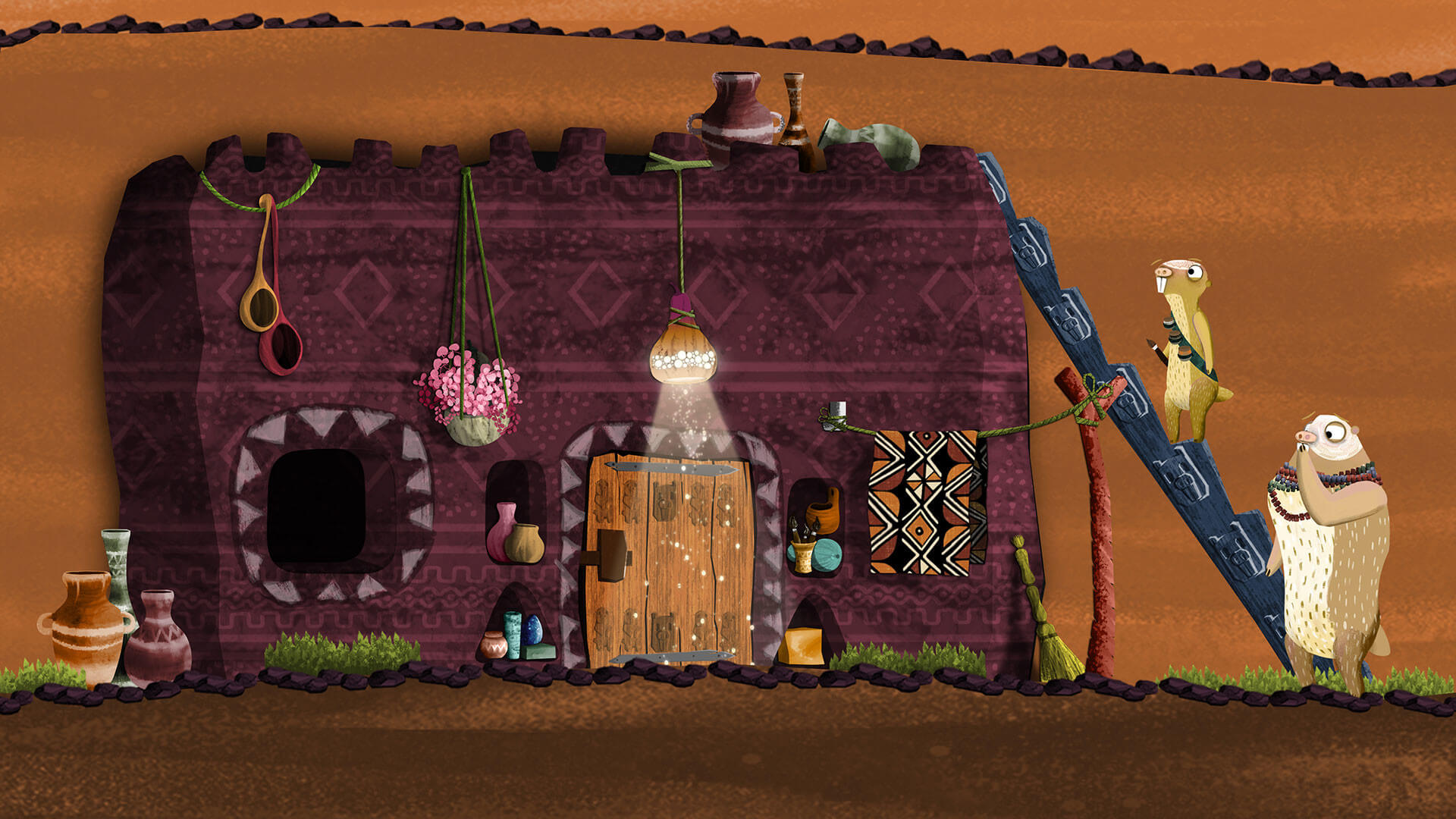 Colony1 Mole Rat House