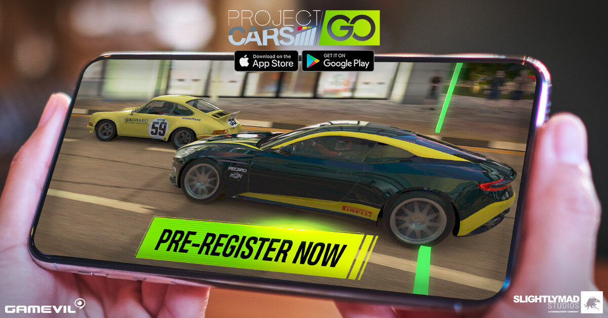 [gamevil Image] Gamevil's Project Cars Go Is Open For Pre Registration