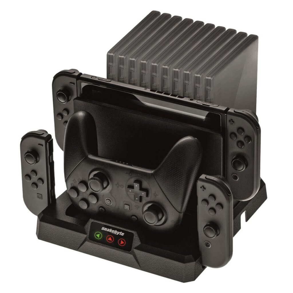 snakebyte dual charge base s