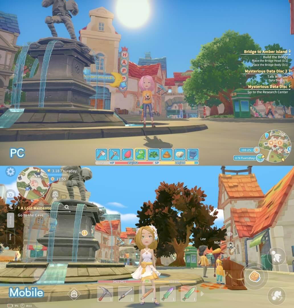 pc vs mobile